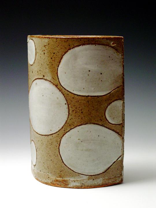 Brown Bubble Vase