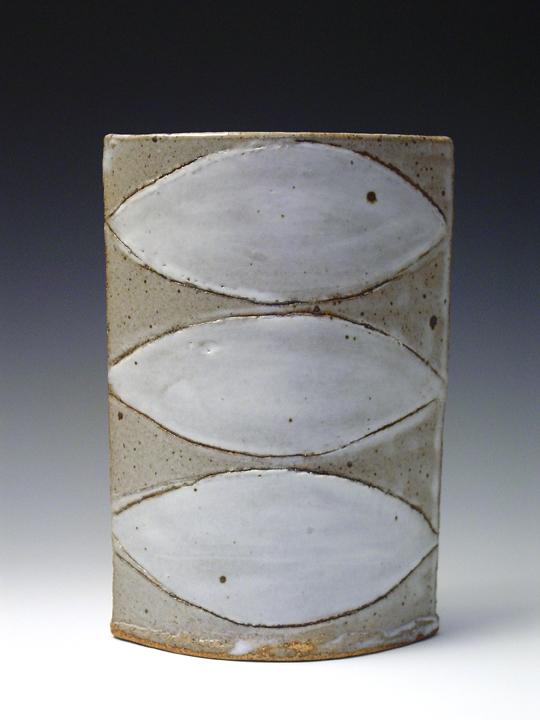 White Lemon Vase