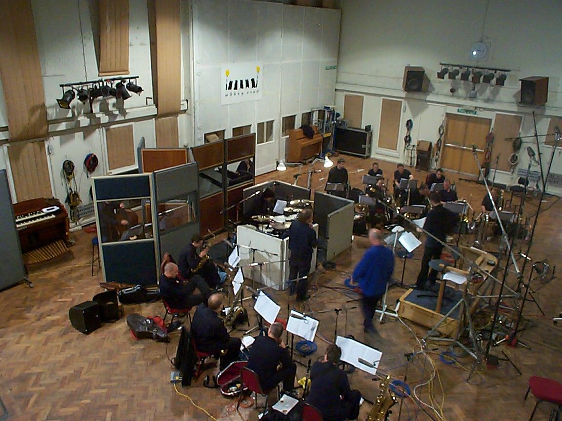 Matthew Herbert Big Band, Abbey Road Studio 2, 2001