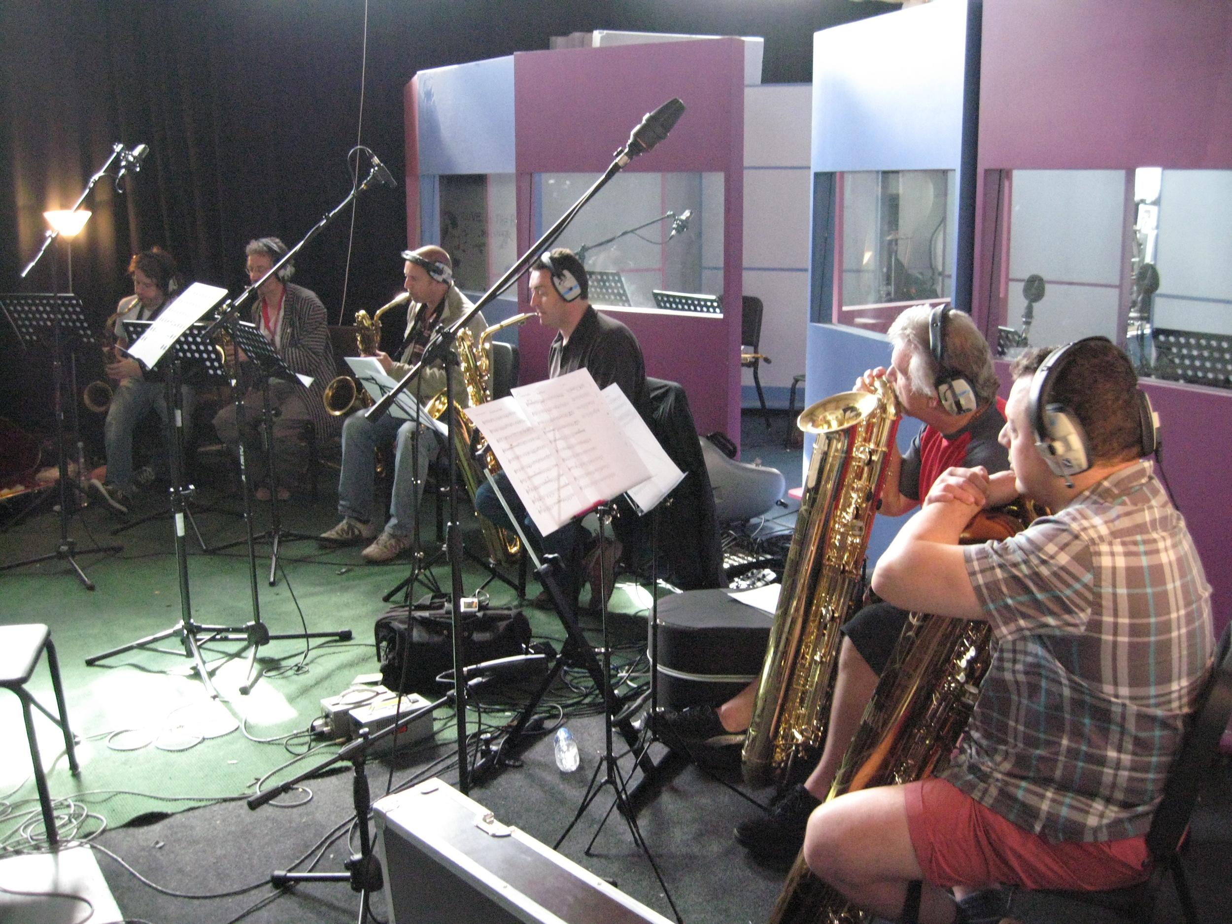 Guillemots Red Album, 2007  Ben Castle, Dai Pritchard, MW, Dave Bishop, Phil Todd, Pete Long
