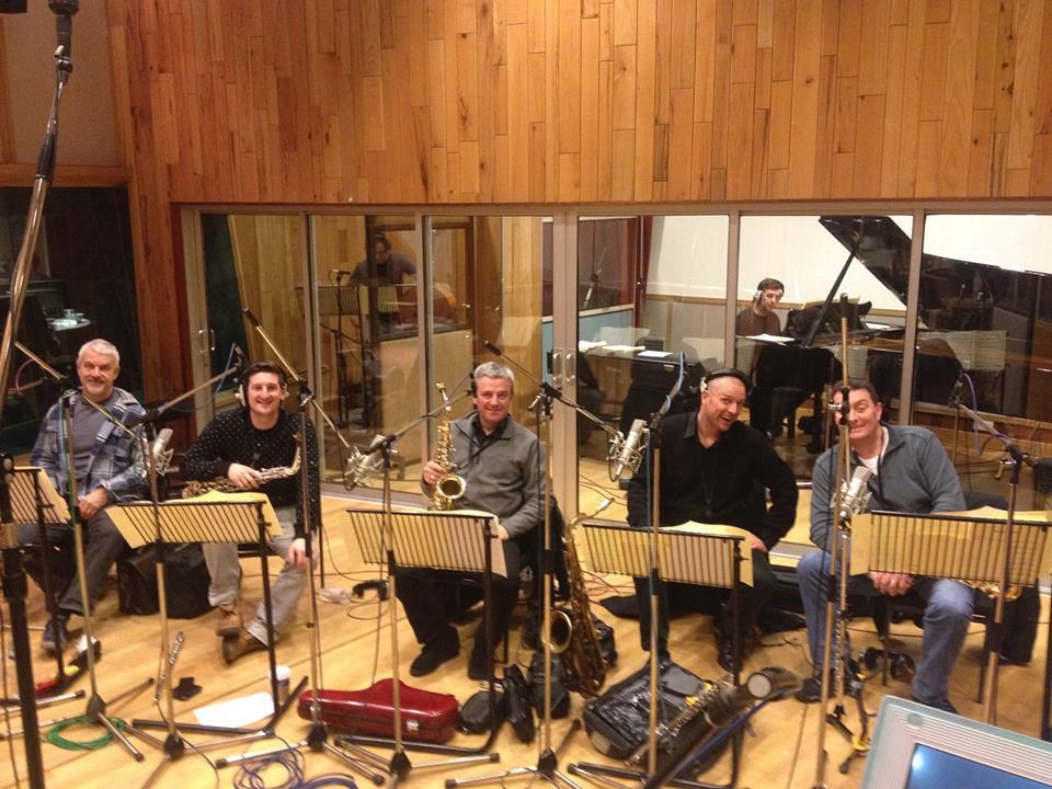 Angel Studios, 2014. Phil Todd, Tom Richards, Jamie Talbot, MW, Dave Bishop