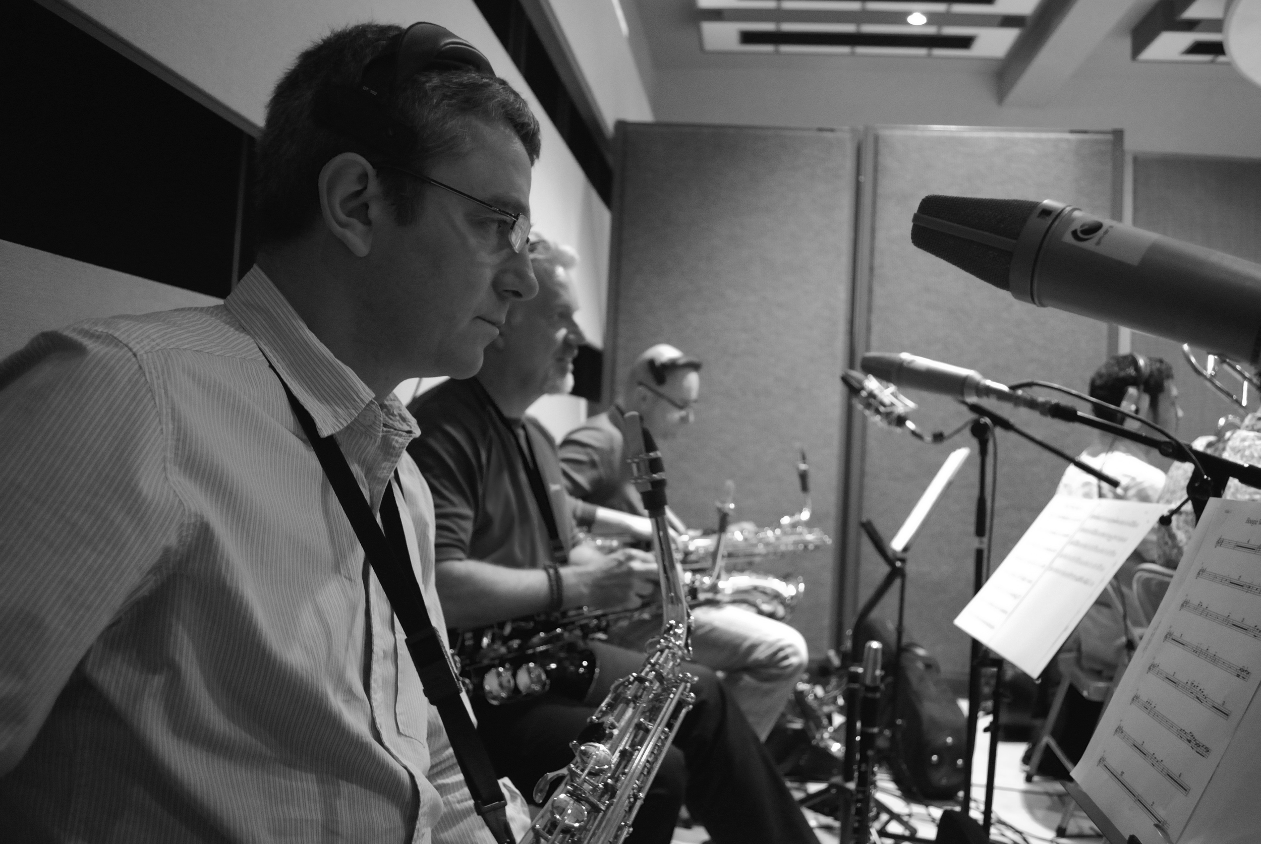 Jamie Talbot, 2008. One of the world's most recorded alto sax players.