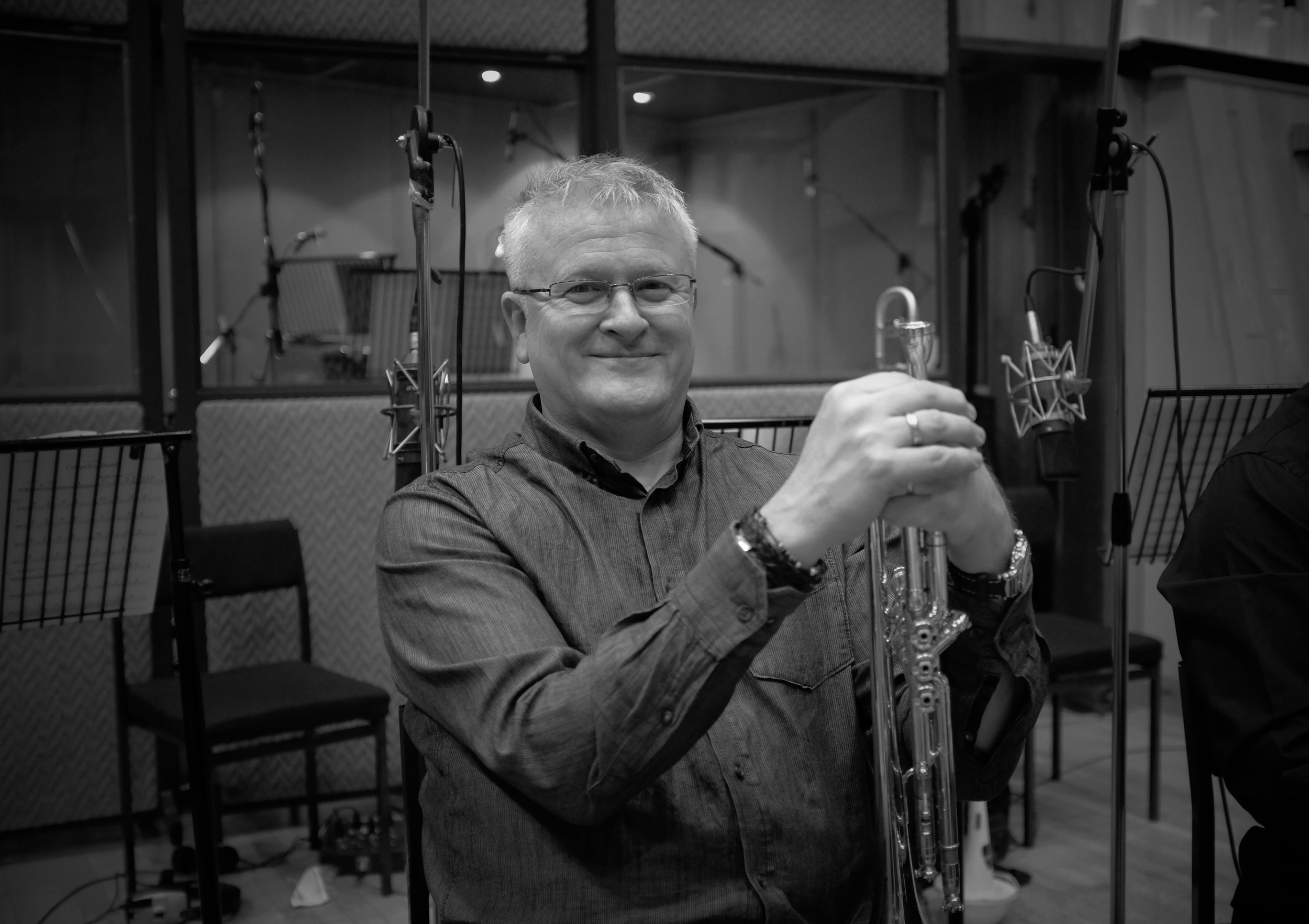 Mike Lovatt , in charge of the trumpet section.