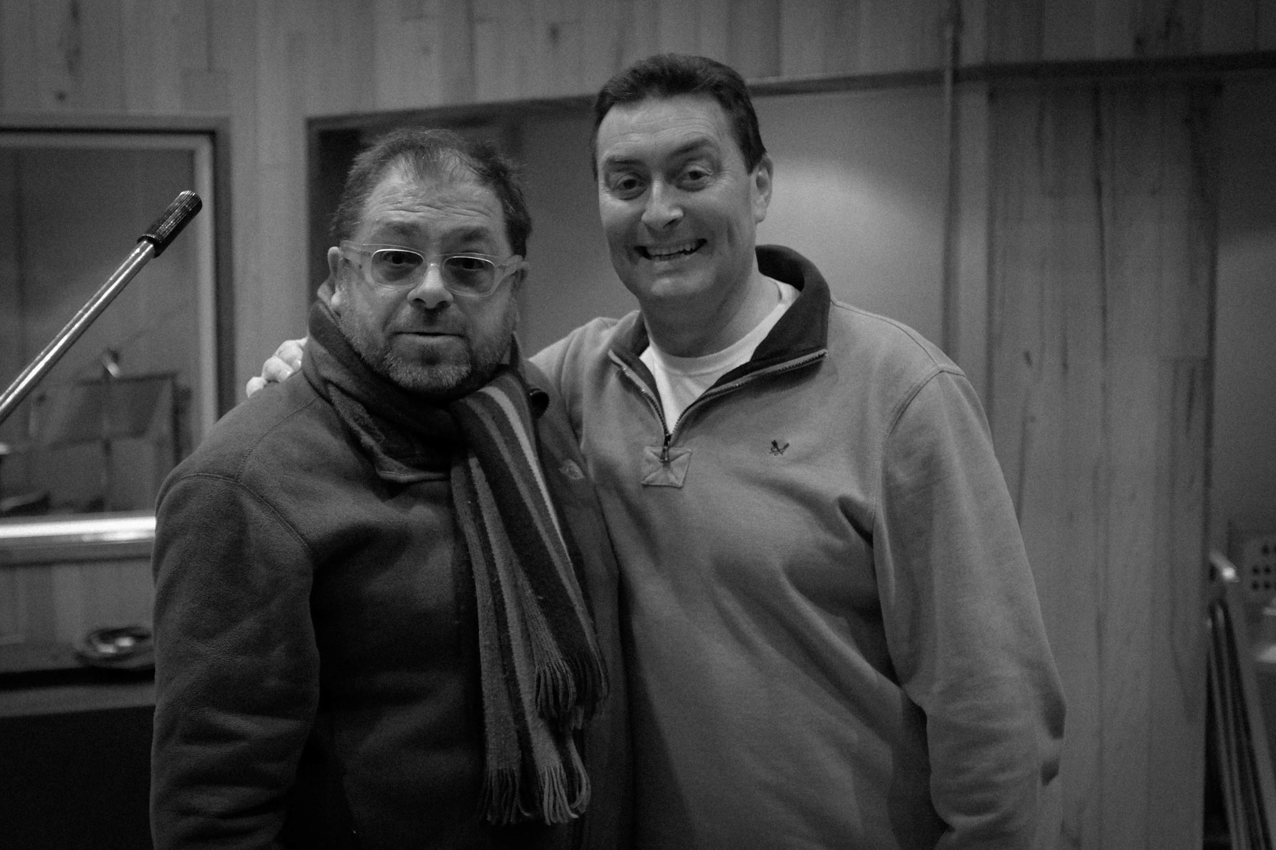 Dave Hartley and Dave Bishop