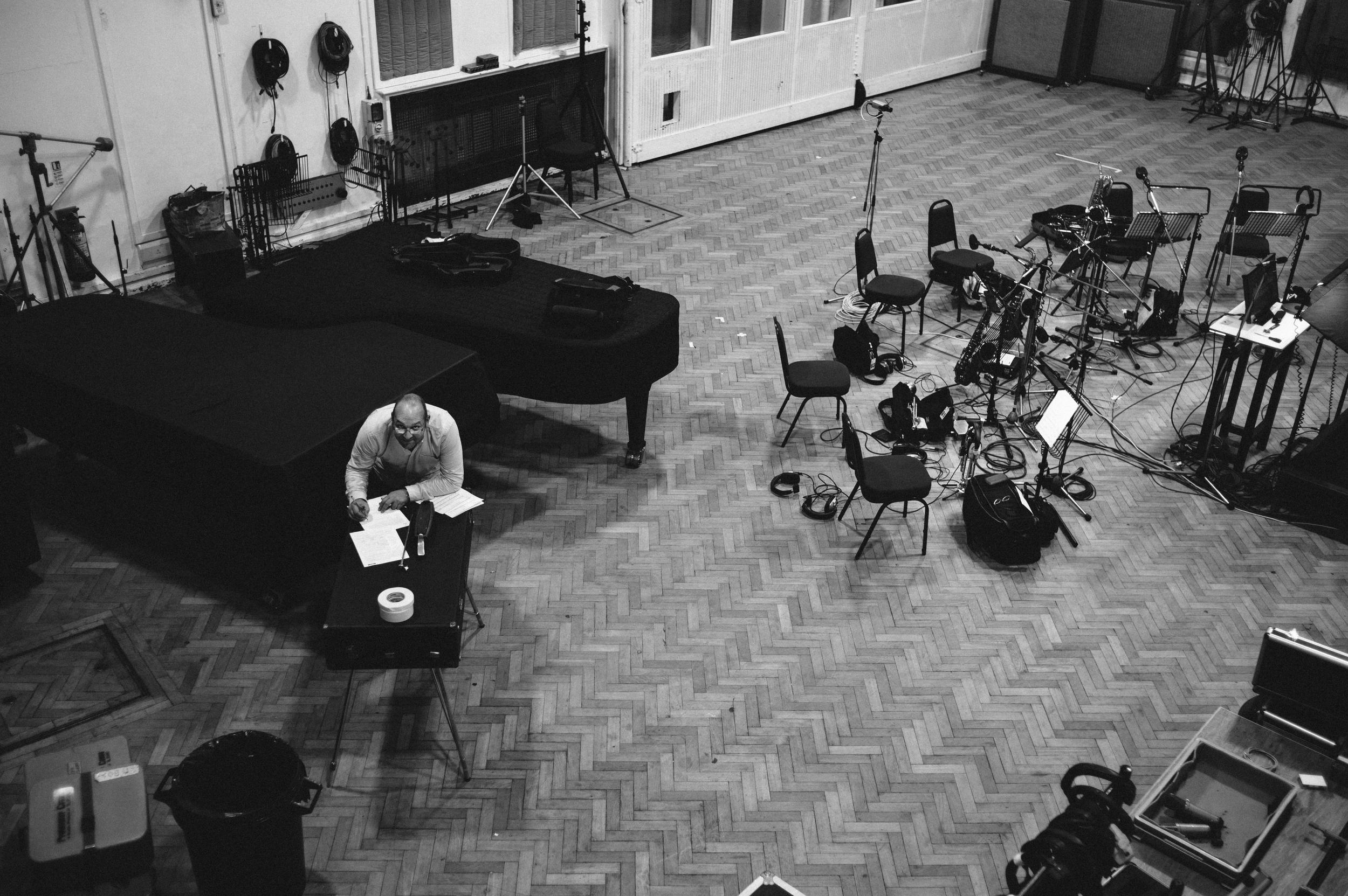 Ryan Quigley, Abbey Road Studio 2, July 2015