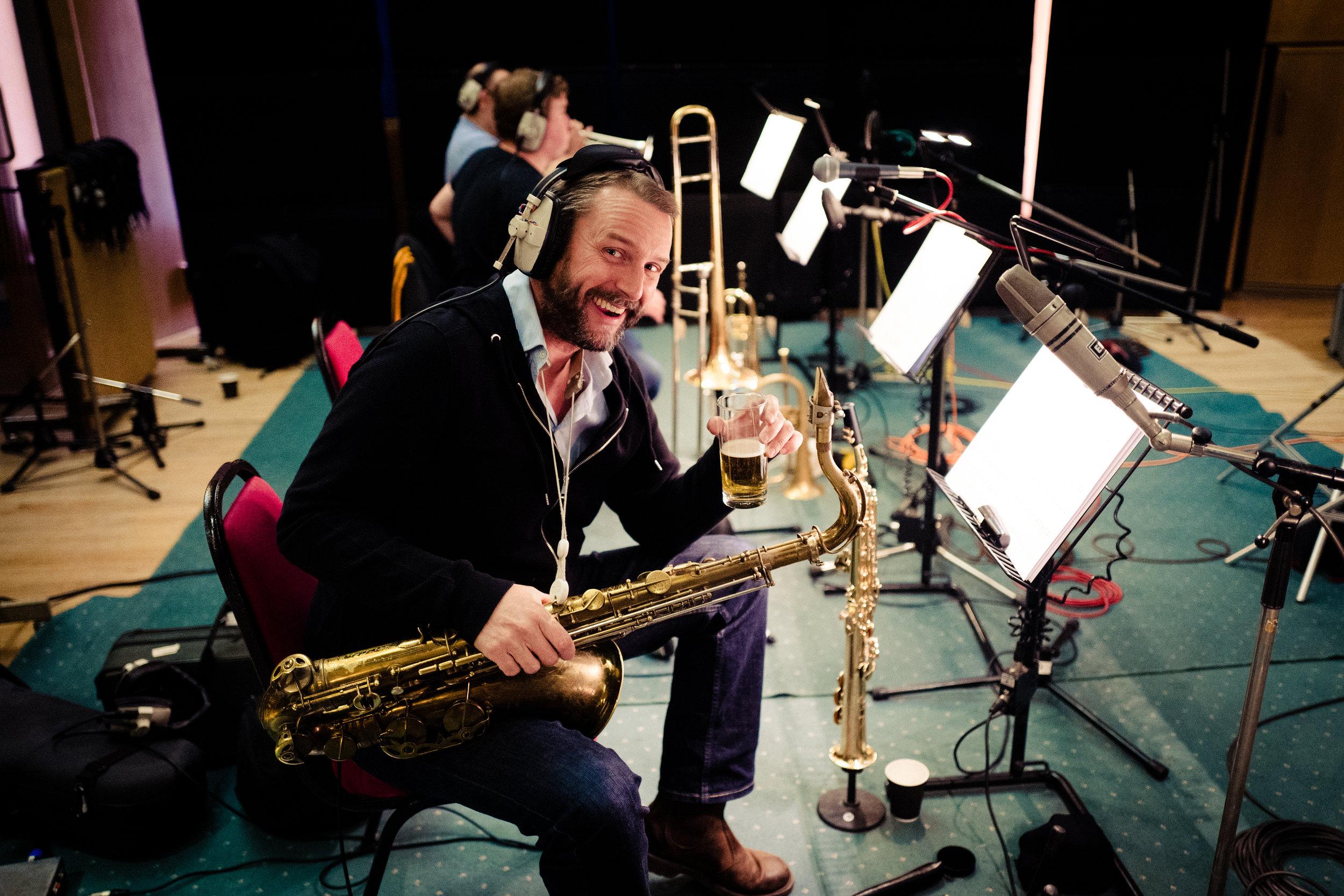 Taking it easy in Abbey Road Studio 3, October 2017