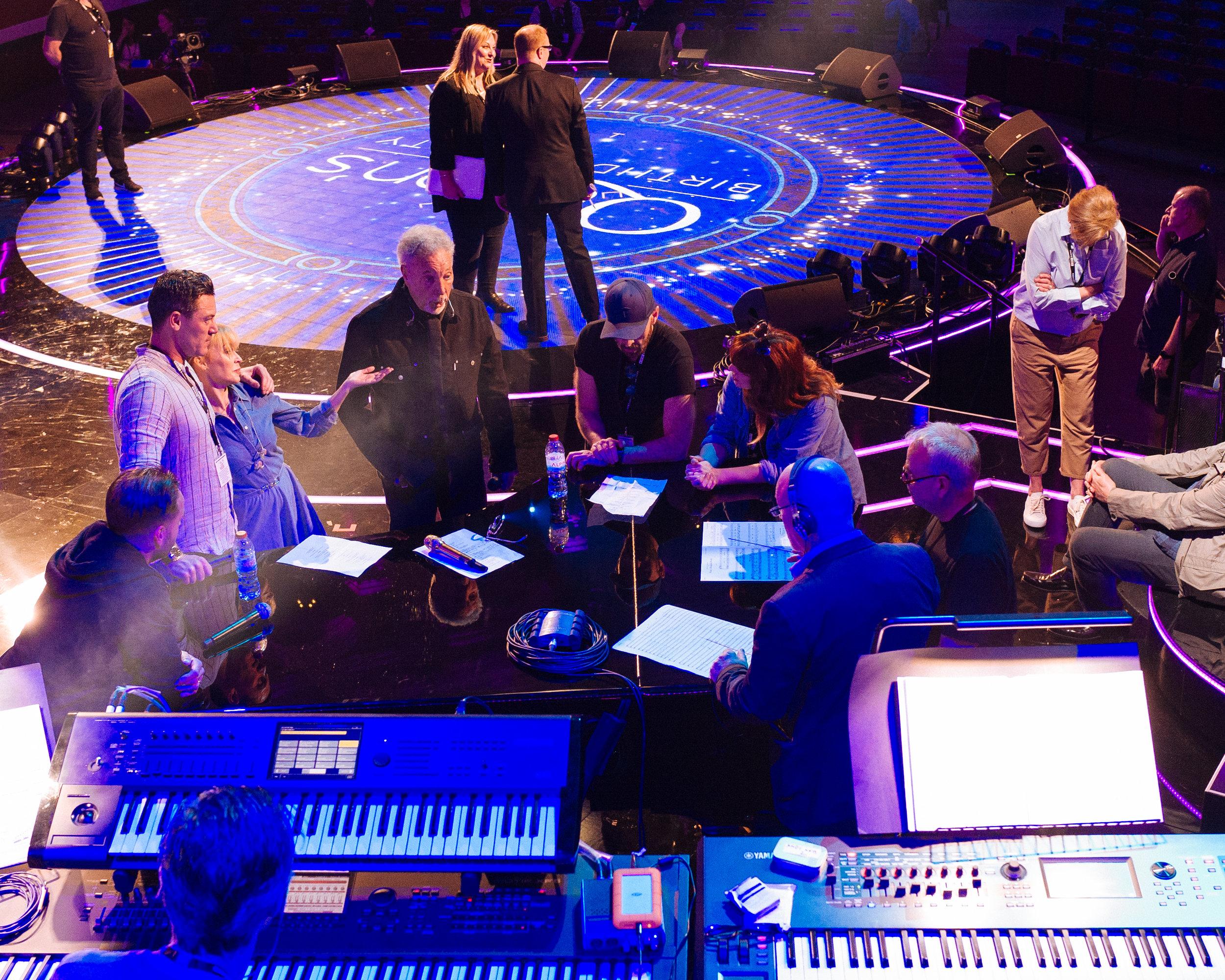 Kylie Minogue, Tom Jones, Royal Albert Hall, April 2018