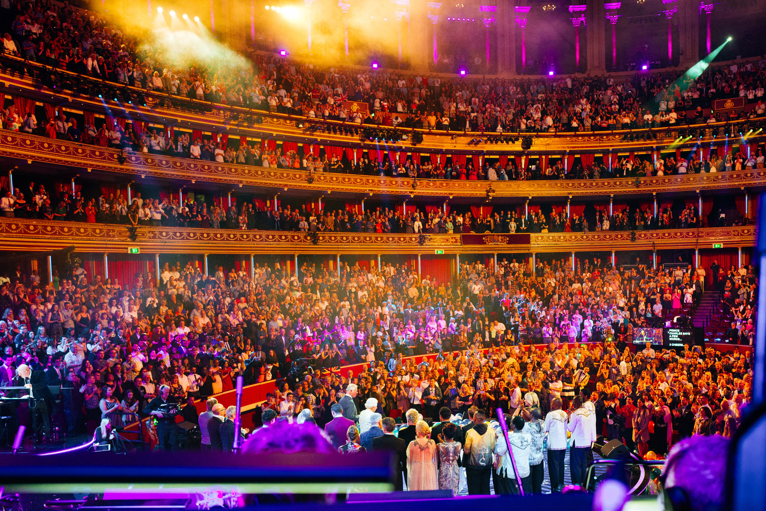 HM The Queen, Royal Albert Hall, April 2018