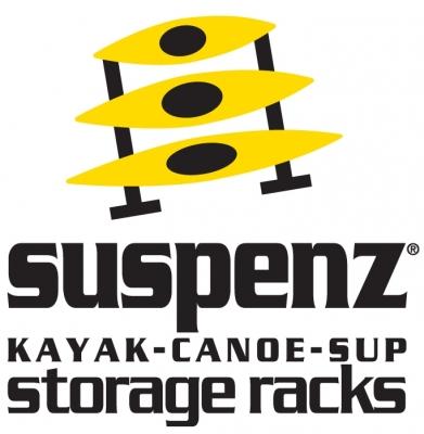 Suspenz Kayak, Canoe, SUP Storage Racks