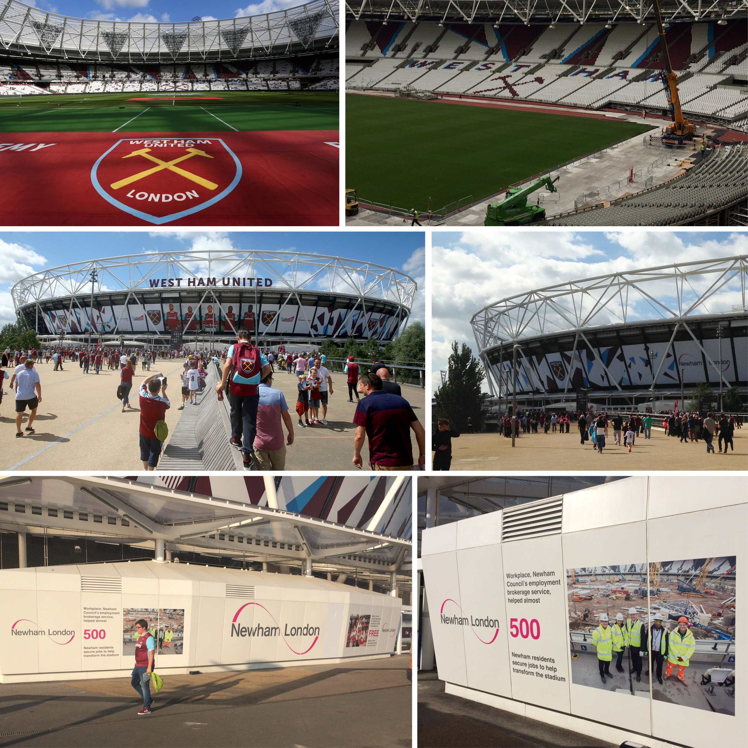 Olympic Stadium transition