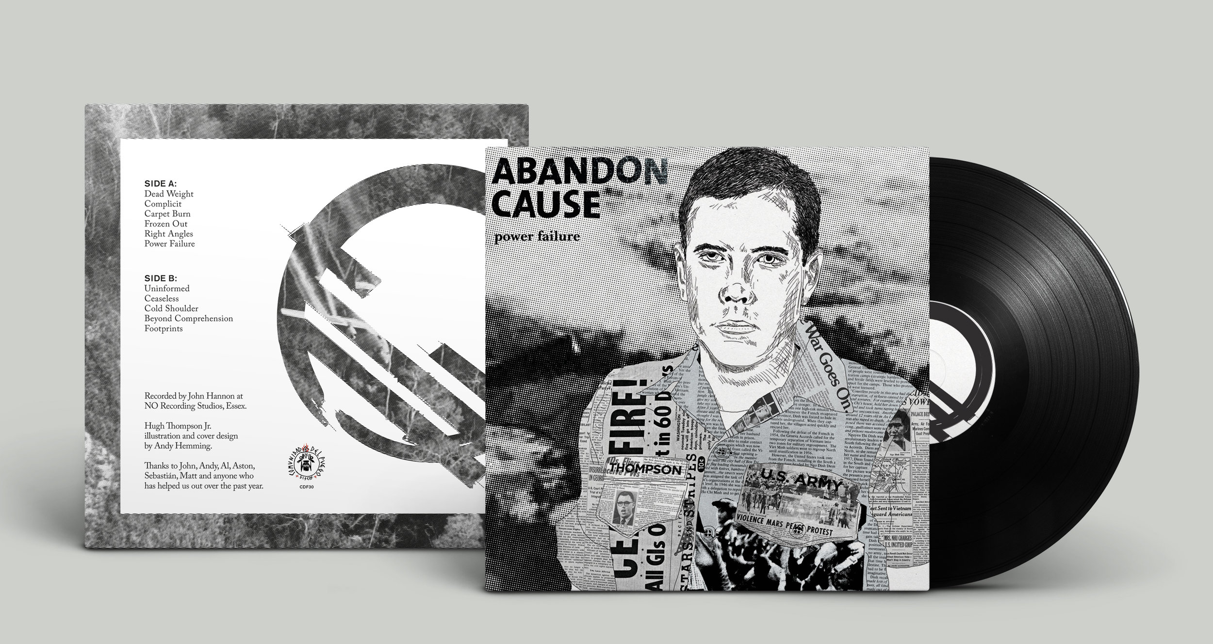 Abandon Cause - Power Failure LP