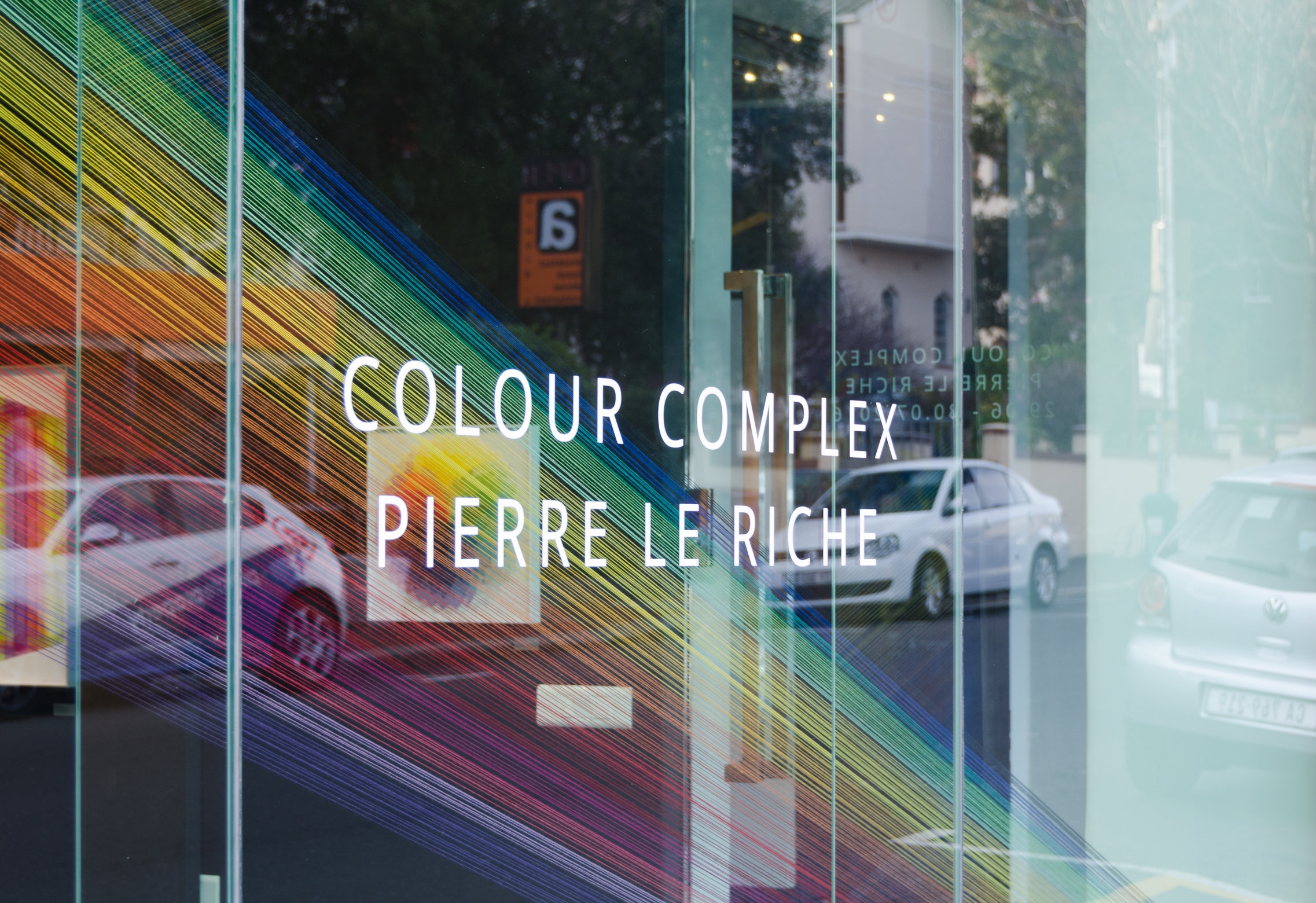 The first exhibition of works from the  Colour Complex collection at  Salon Ninety One  Gallery in Cape Town (2016).
