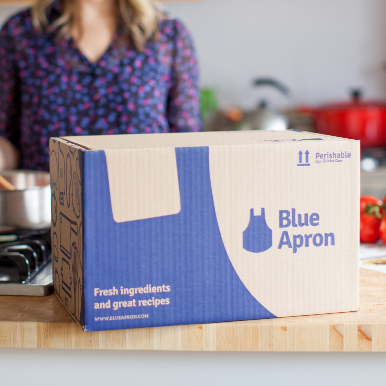 Blue Apron iPhone app