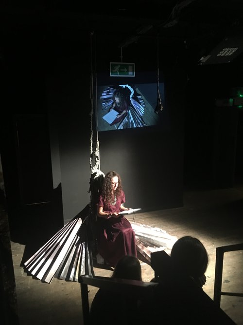 'These Pits & Abysses' CLF Theatre 2016. Leverhulme residency in the Geography Department, RHUL.