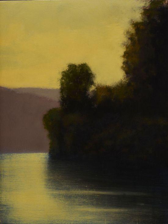 """""""Mystery"""" Oil on canvas 18"""" x 24"""""""
