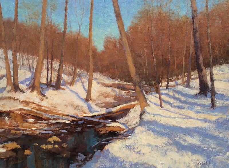 Snow-Scene-Oil