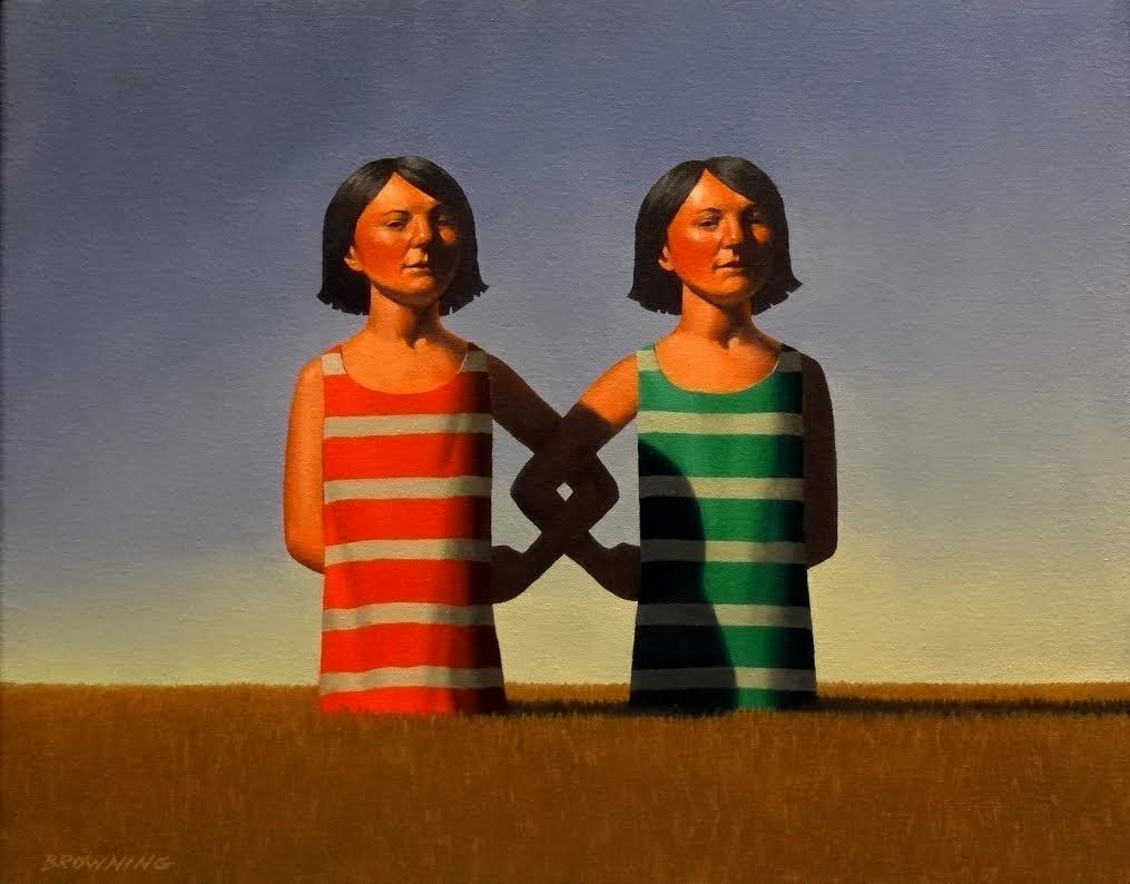 Twins, oil on canvas, 16x20.jpg