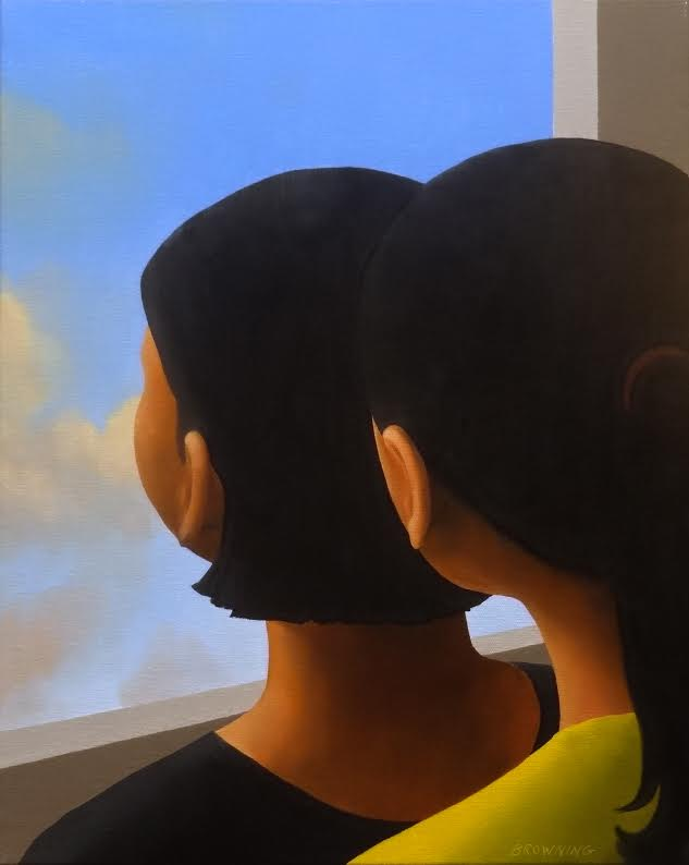 Girls and Window, 20x16, oil on canvas.jpg