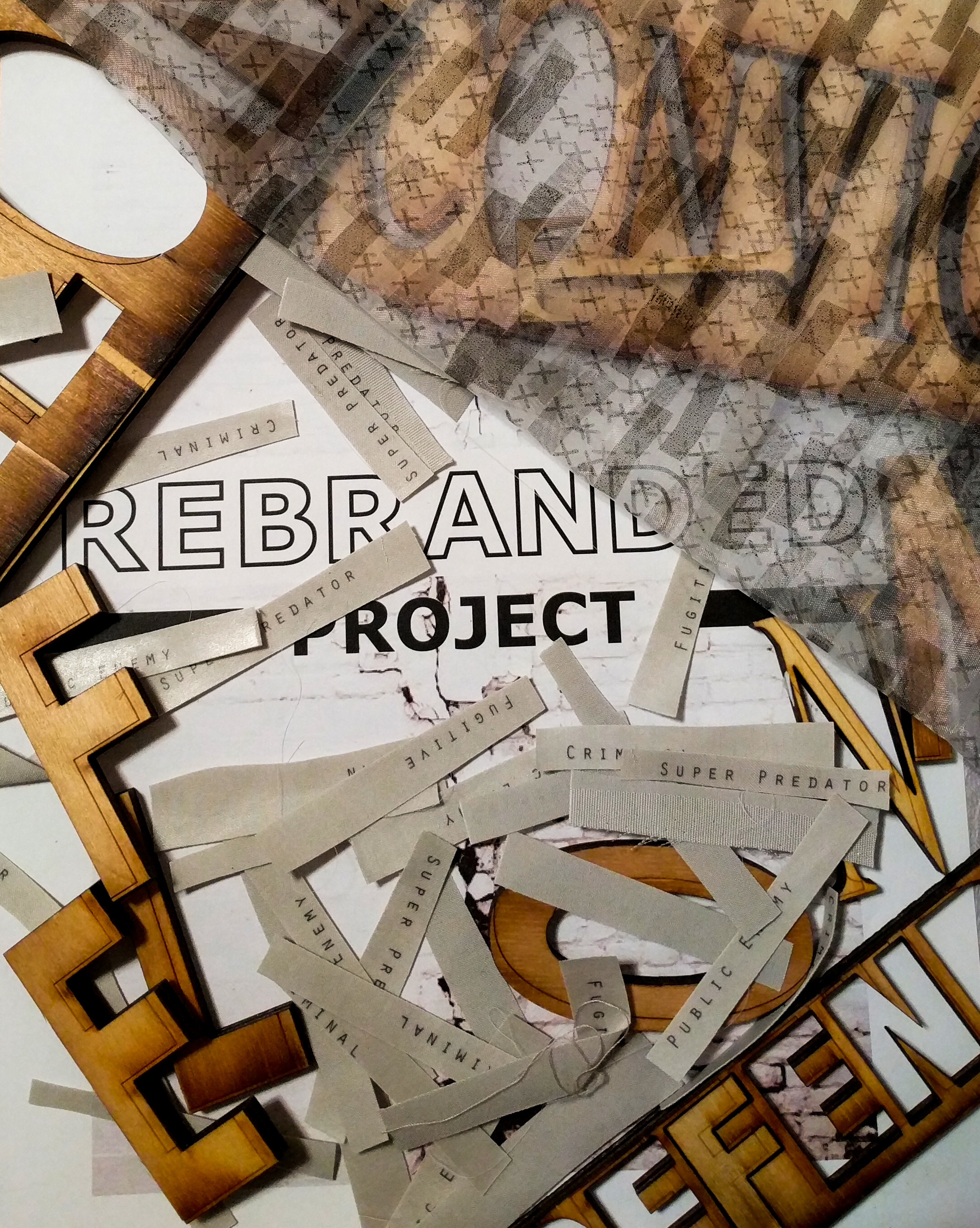 Rebranded project: the process - View the complete Rebranded Project process book now.