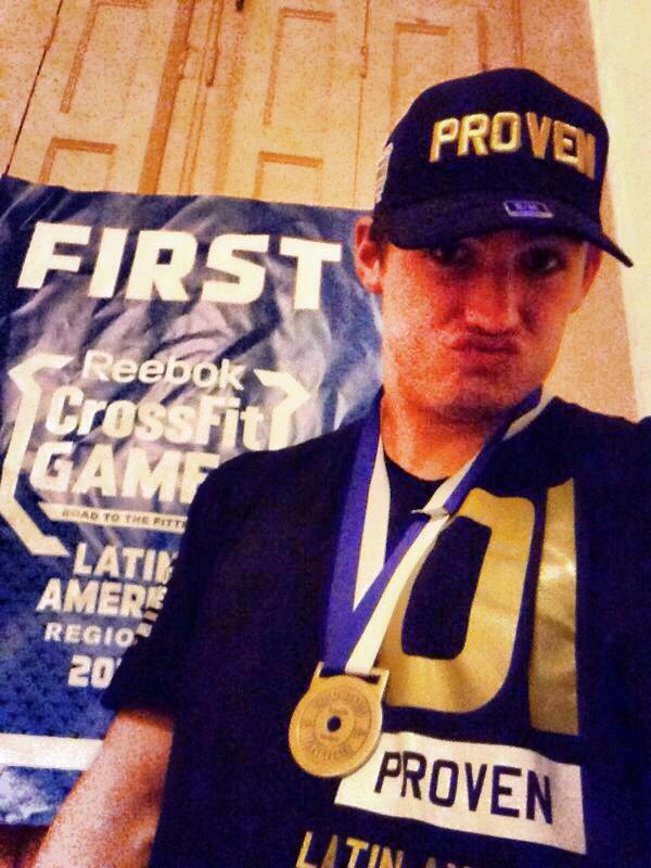 Titus rocking the 01-PROVEN shirt & cap. And totally pulling off the duckface. All gold errthang