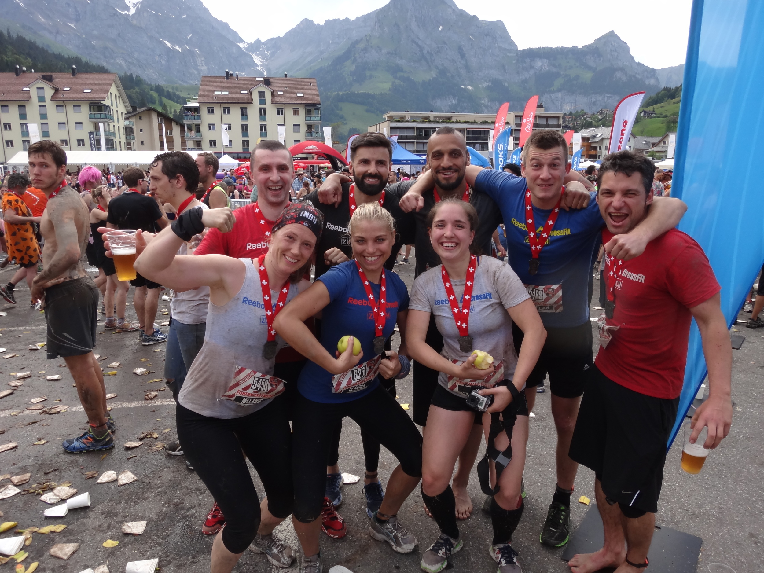 Congratulations to our Strong Women and Men who finished this years Fisherman's Friend Strongman run! A grueling 22k obstacle race in the burning sun!Great Job Ben, Filipe, Mister T, Maximilian, Sasha, Mel, Claudia and Cavide!