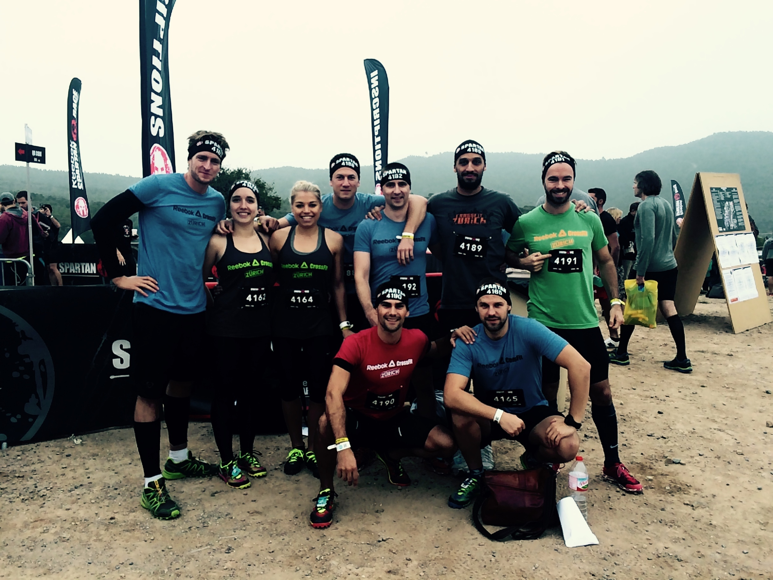 Before and after....Ralf, Cavide, Claudia, Max, Ben, Jamal, Andrew, Aitor and Edgar