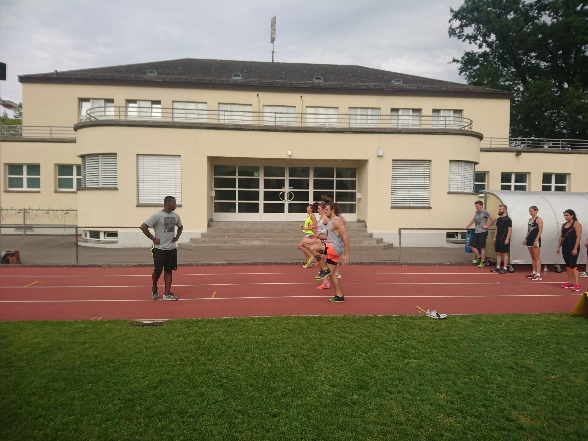 """Workout 5: """"Sprinting"""" with Coach Amaru"""