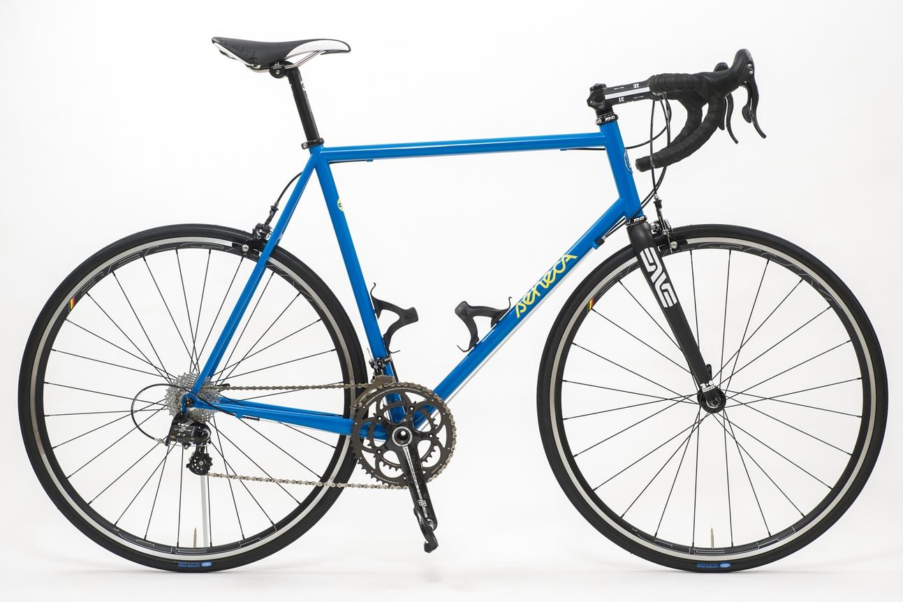 Blue road racer