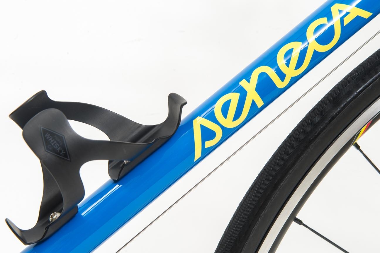 Seneca Cycle Works down tube logo