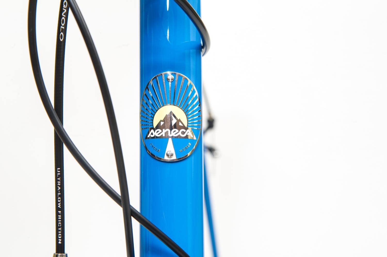 Seneca Cycle Works headbadge