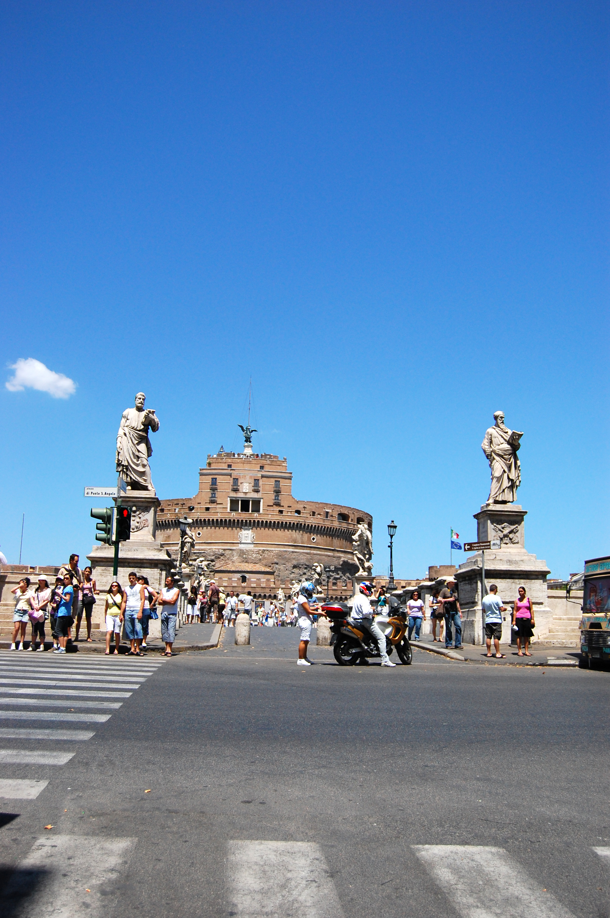 Castel St. Angelo, Rome, Italy