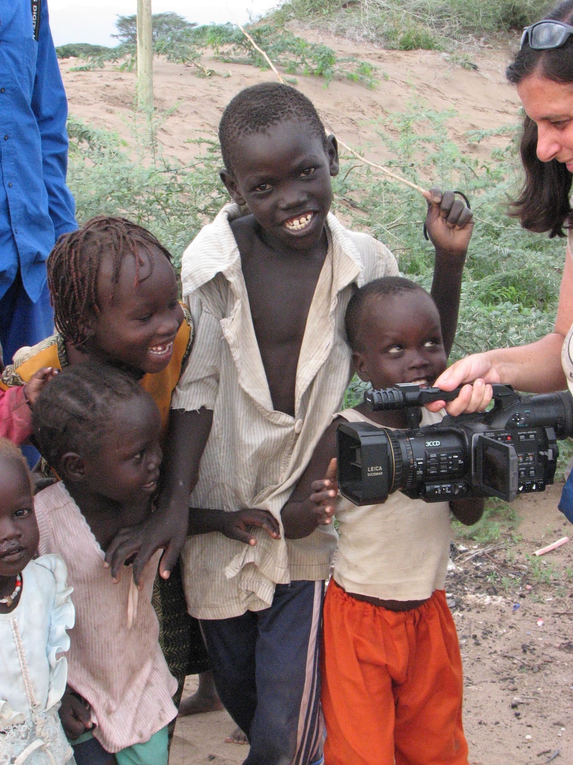 Jen in South Sudan