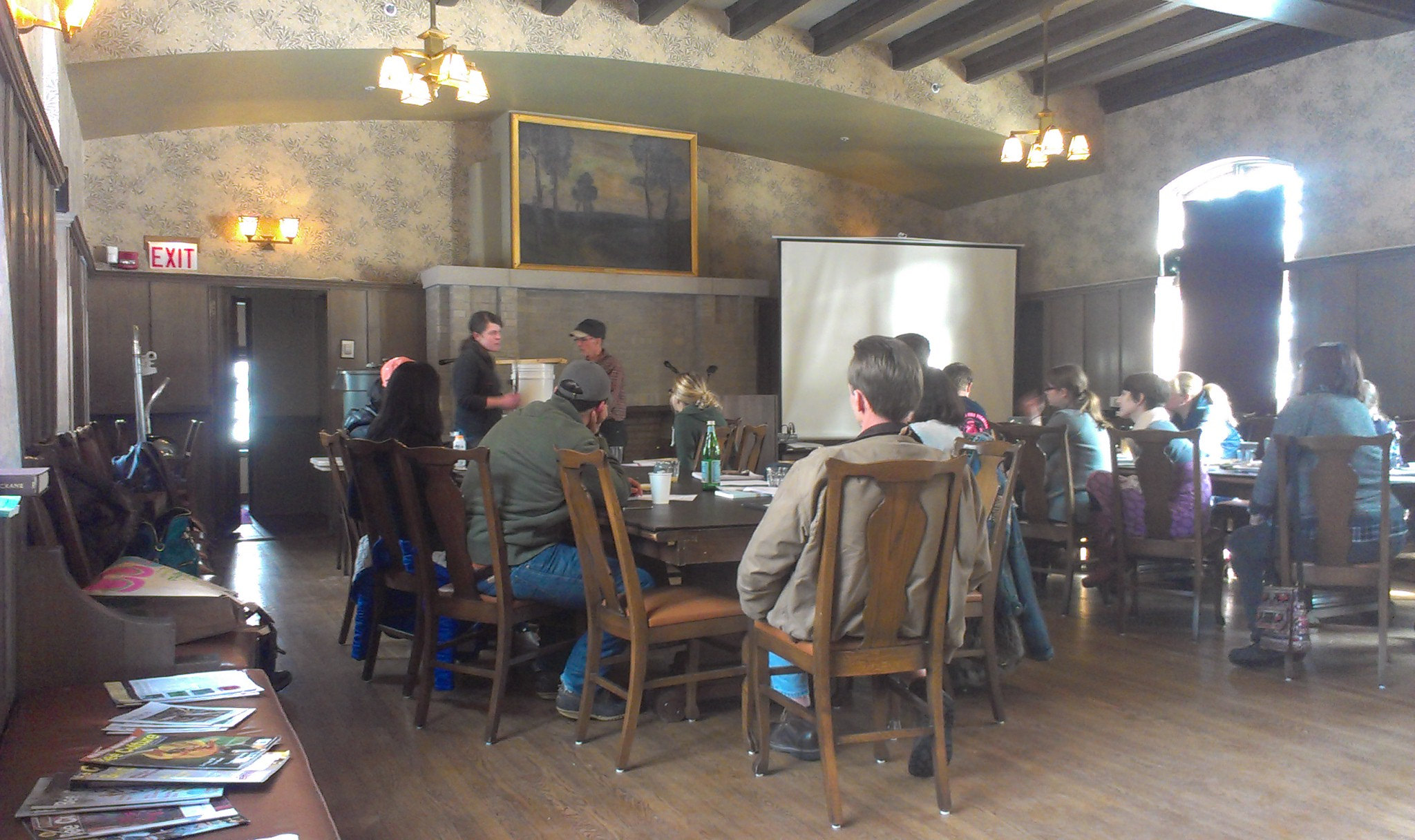 Class at Hull House