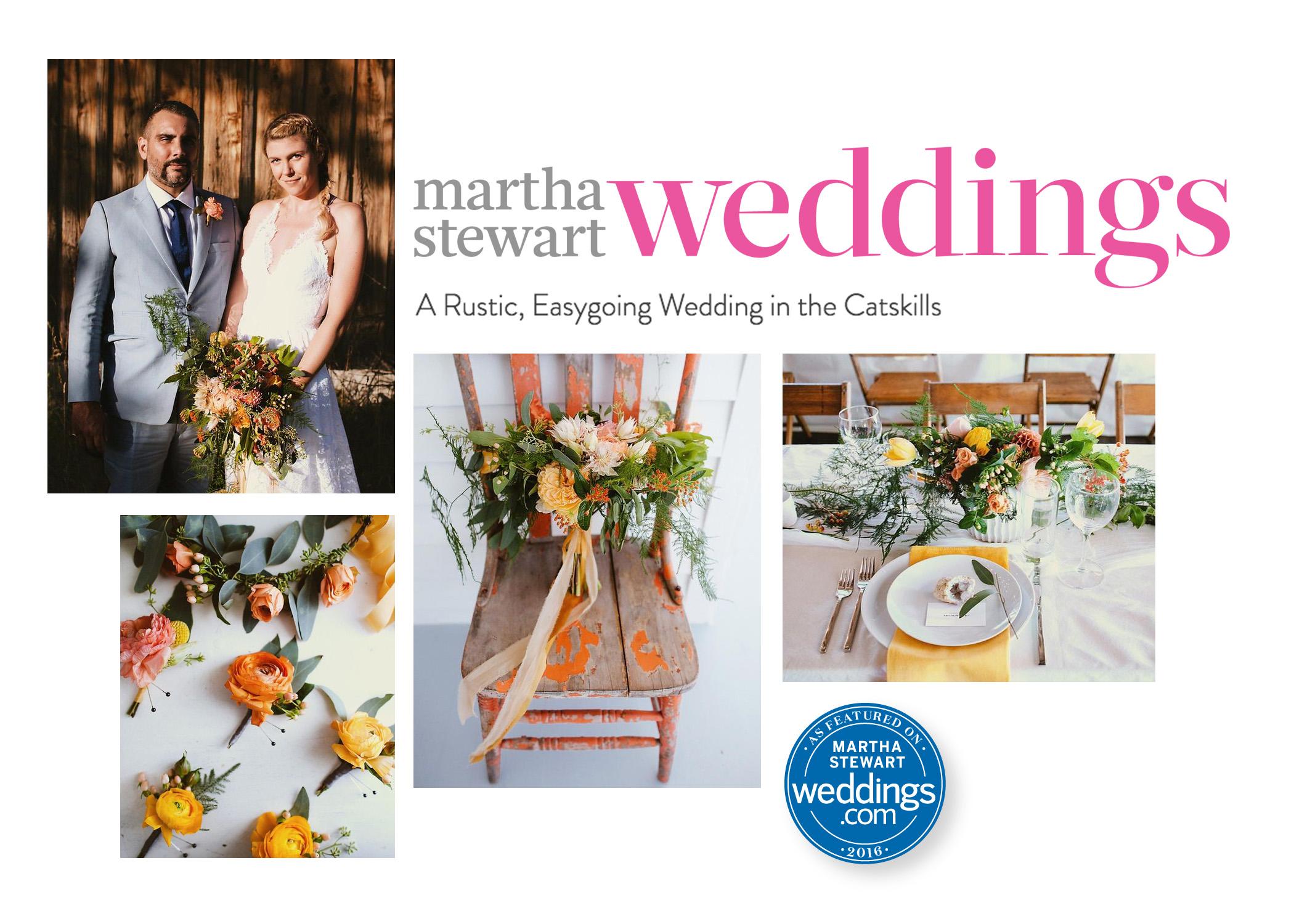Martha Stewart Wedding Profile