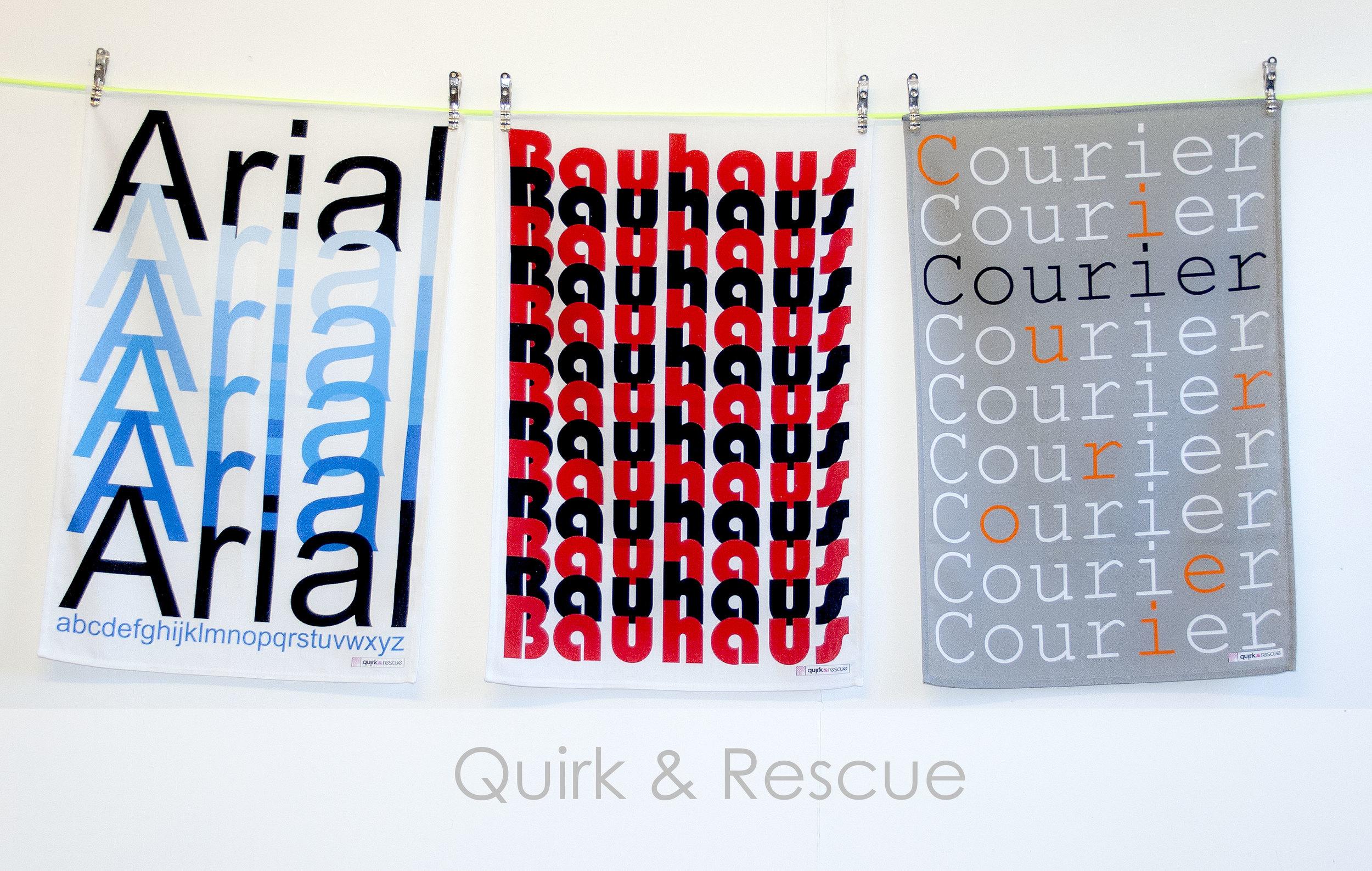 Quirk & Rescue Tea Towels