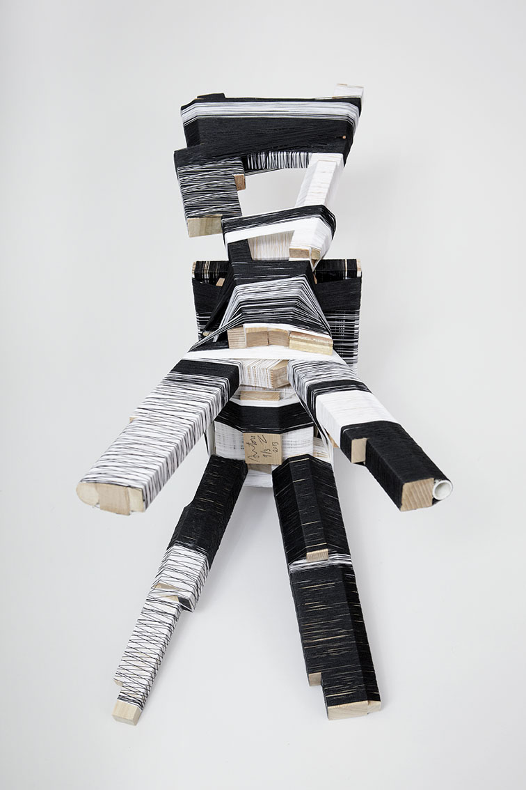The Thread Wrapping Machine, Anton Alvarez, photo Gustav Almestål, courtesy Gallery Libby Sellers