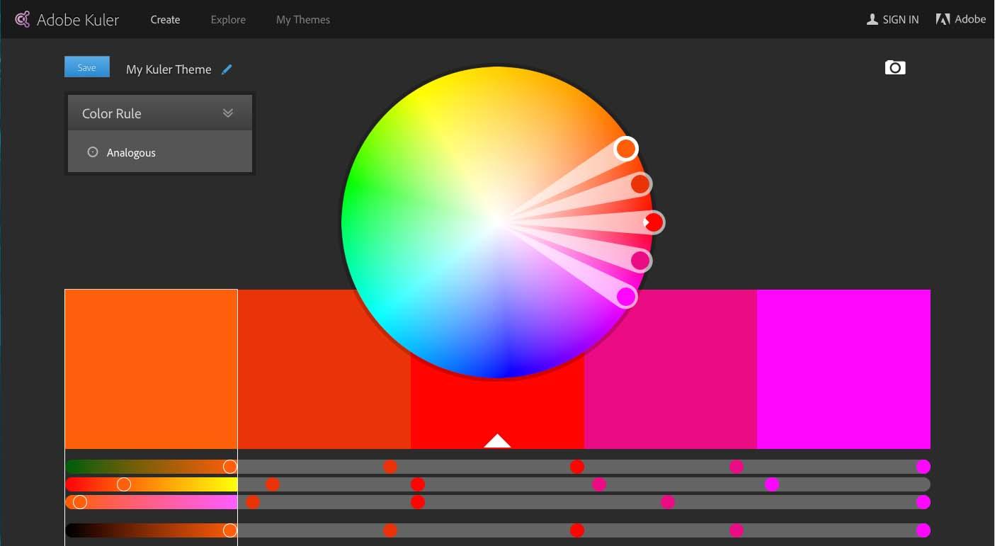 Image of Adobe Kuler