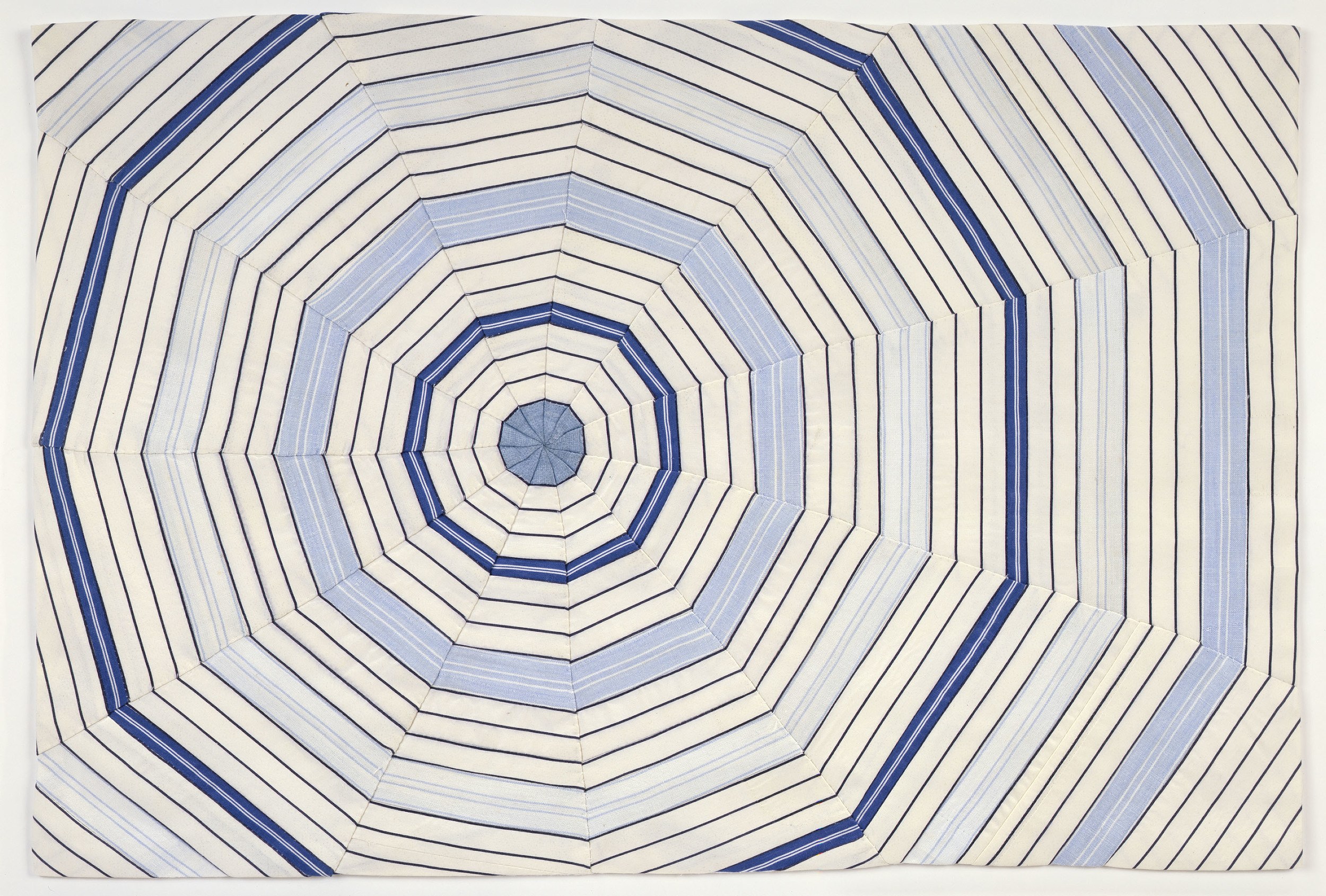 Louise Bourgeois,  Untitled , 2006, Fabric, 15 x 22 1/4 inches. Courtesy Cheim & Read, New York. The Easton Foundation/ Licensed by VAGA, New York, NY.
