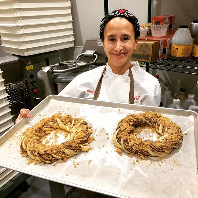 Get your babka king cake orders in. It's carnivale time. @saftascounter link in bio
