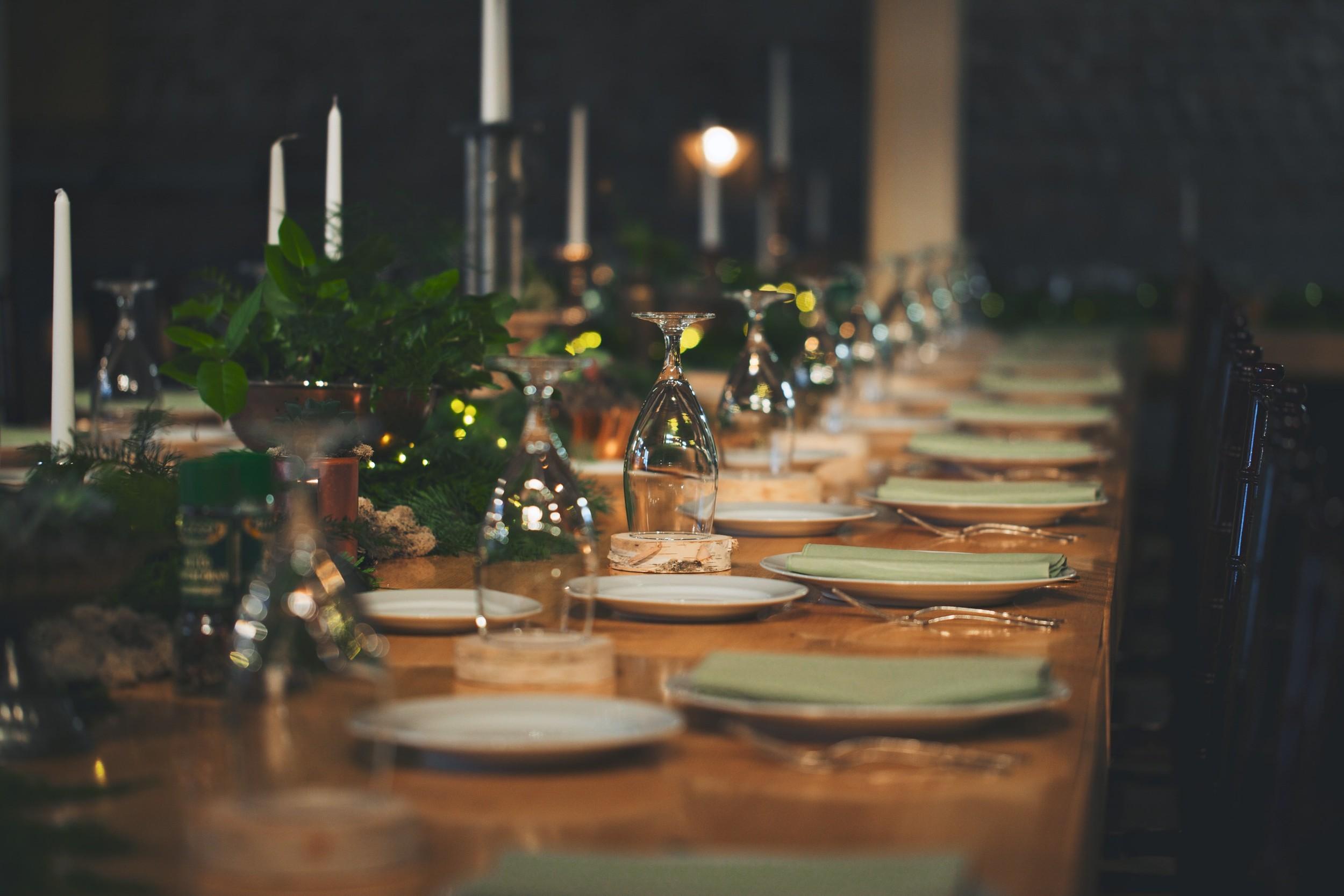 Tennessee Intimate Wedding Reception