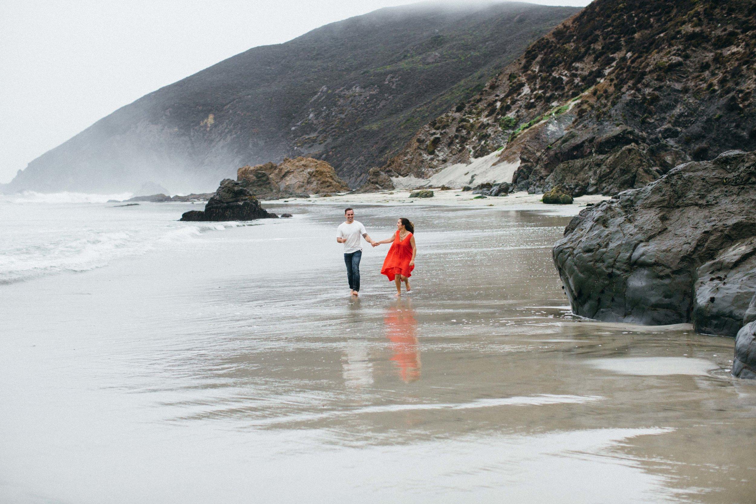 Benjamin Hewitt Photography   Romantic Pfeiffer Beach Portraits   Big Sur, California