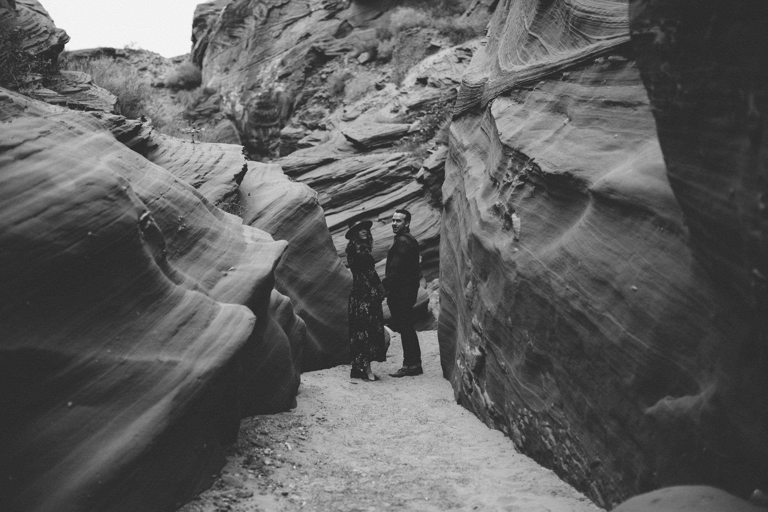 Arizona Engagement Photographer   Benjamin Hewitt Photography   Antelope Canyon - Waterhole Canyon