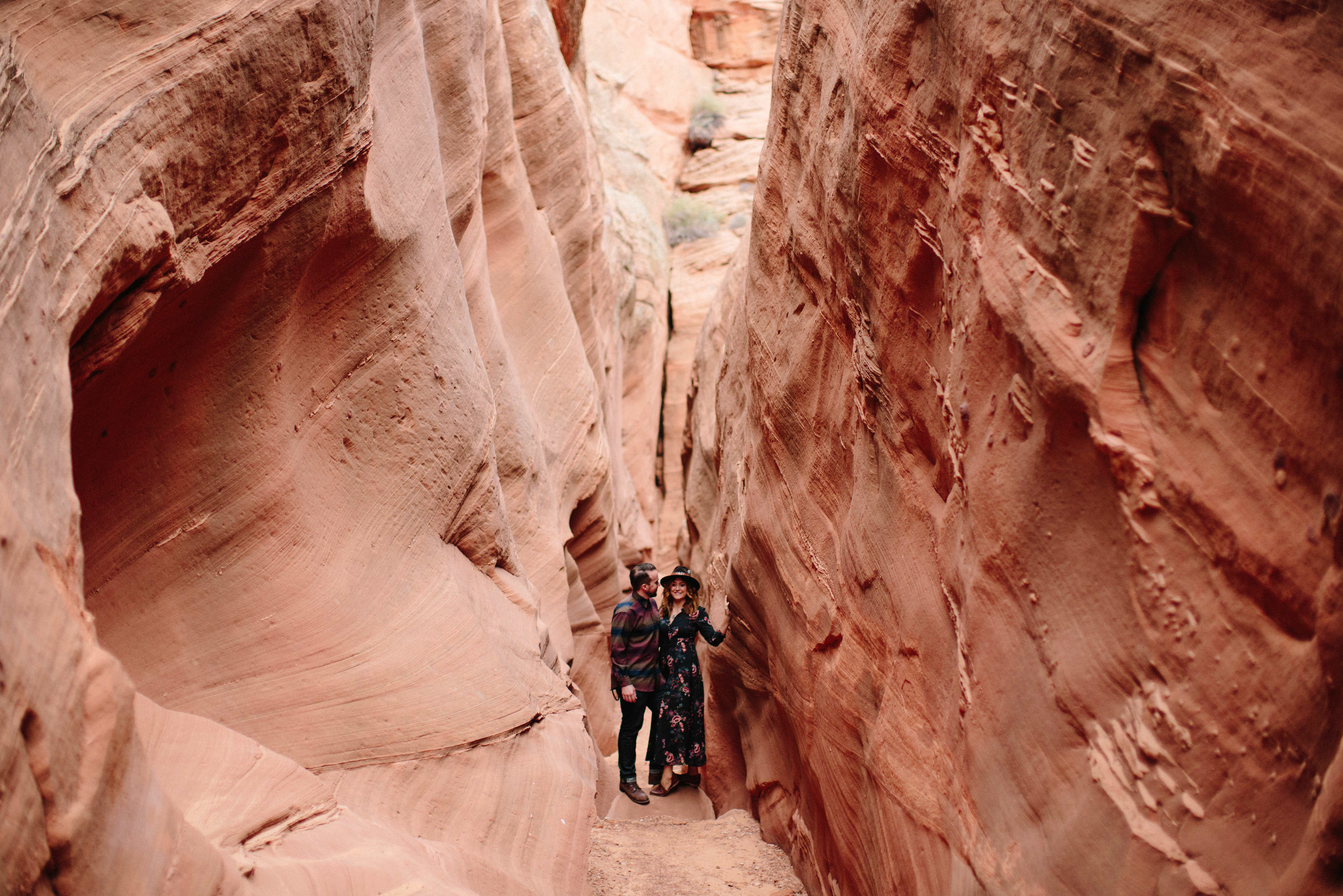 Arizona Engagement Session | Benjamin Hewitt Photography | Antelope Canyon - Waterhole Canyon