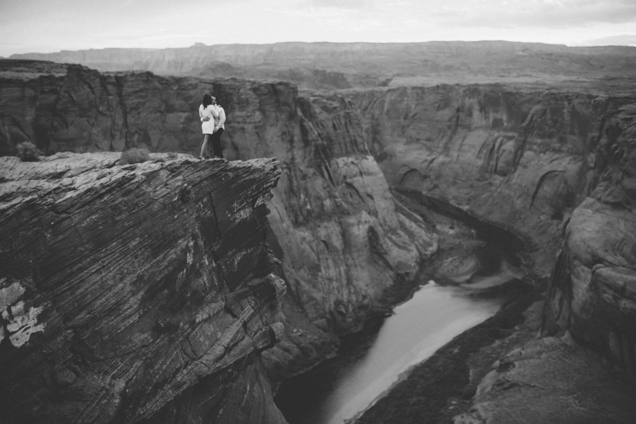 Arizona Engagement Photographer   Benjamin Hewitt Photography   Horseshoe Bend