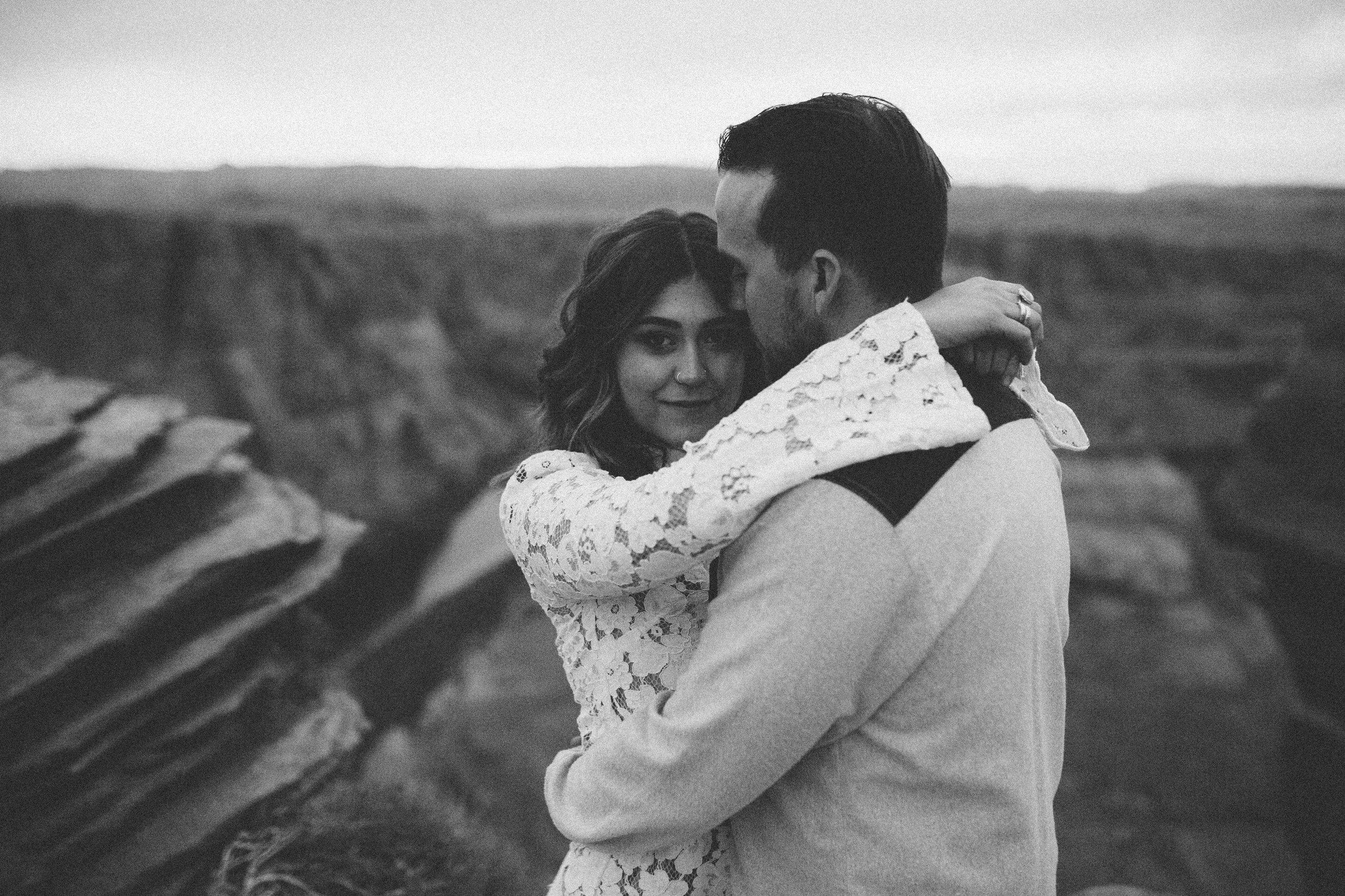 Arizona Engagement Photographer | Benjamin Hewitt Photography | Horseshoe Bend