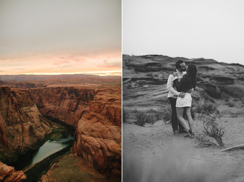 Arizona Engagement Session | Benjamin Hewitt Photography | Horseshoe Bend