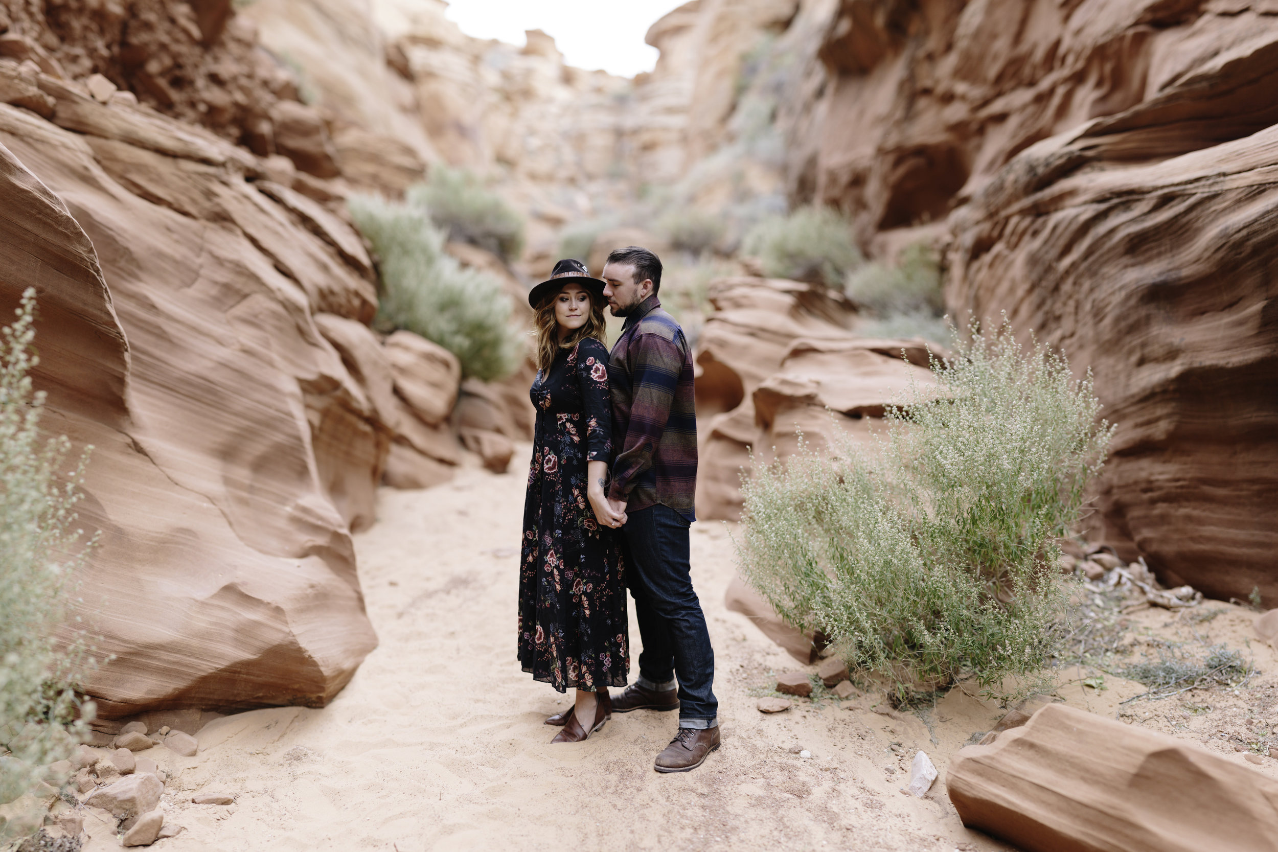 Arizona Engagement Photographer | Benjamin Hewitt Photography | Antelope Canyon - Waterhole Canyon