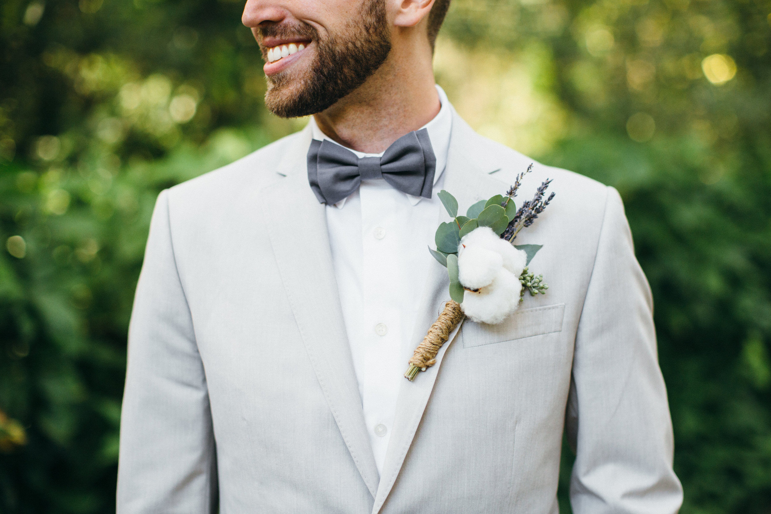 Groom Boutonniere Bout Plant City Florida Wedding Photographer Benjamin Hewitt Photography