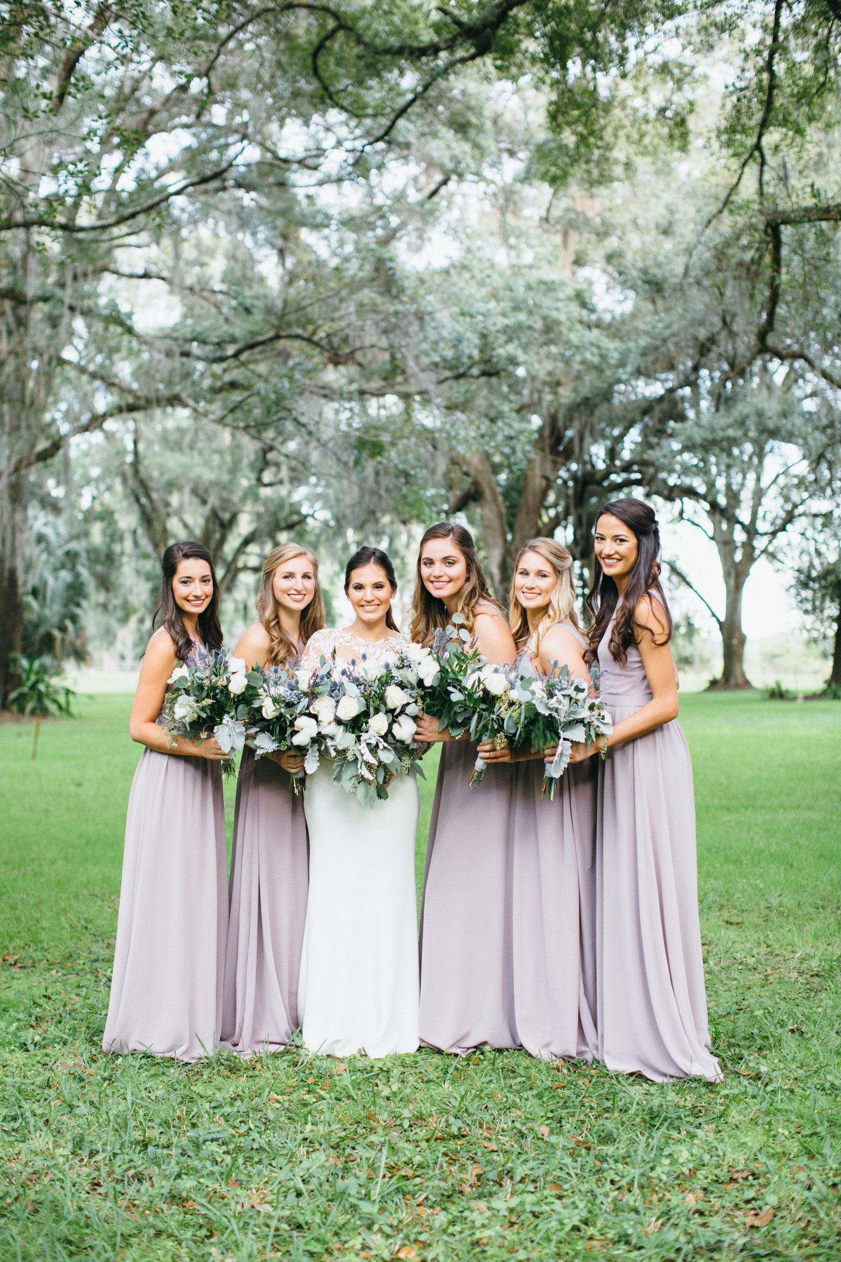 Wedding Bridesmaids Plant City Florida Photographer Benjamin Hewitt Photography