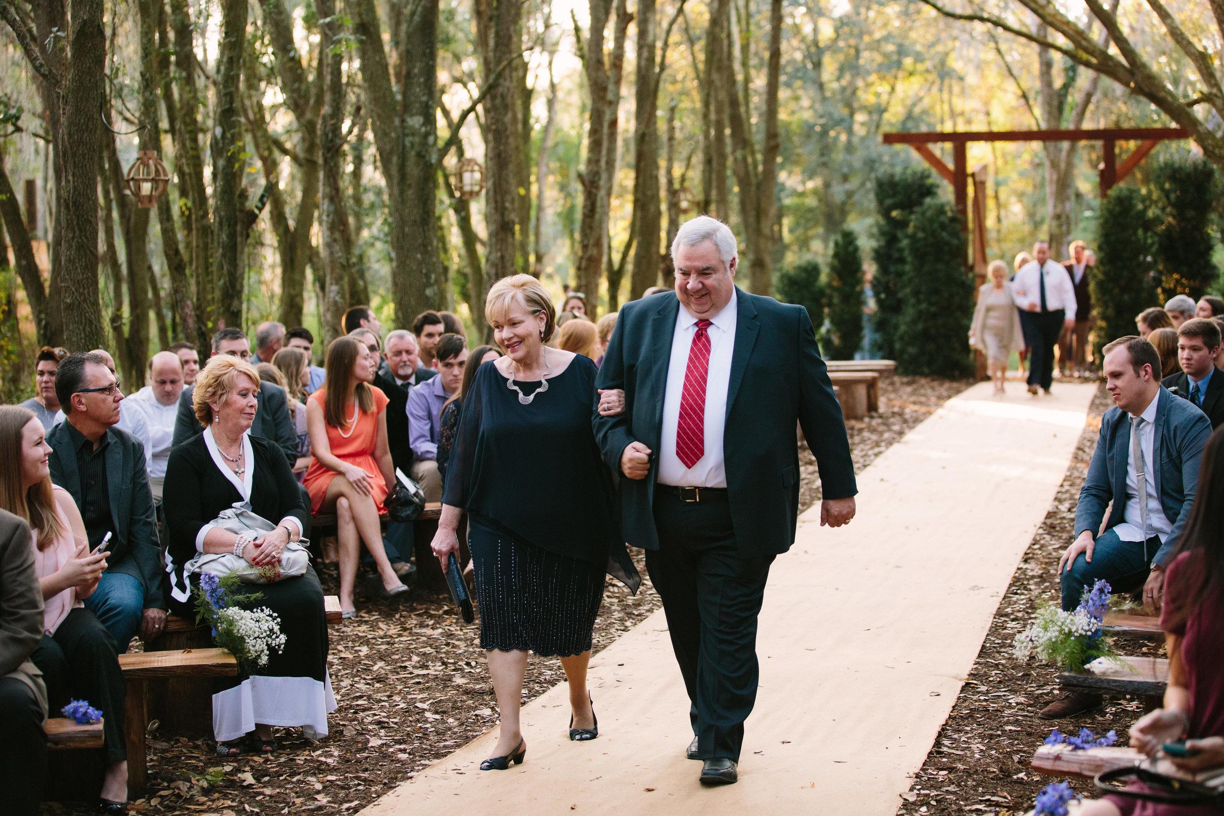 Gables Ceremony   Florida Rustic Barn Weddings   Plant City, Florida Wedding Photography   Benjamin Hewitt Photographer